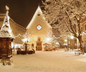 christmas, cold, and happiness image