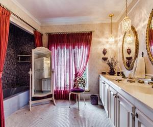 bathroom, dream home, and home image