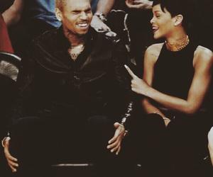 chris brown, couple, and swag image
