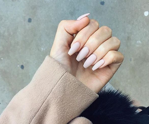 nails, fashion, and hand image
