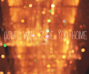 coldplay, lights, and song image