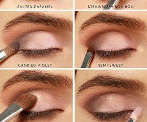 color, eyeshadow tutorial, and diy image