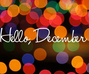 colorful, december, and hello image