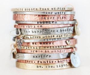 bracelet, etsy, and bangle bracelets image