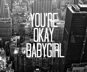 babygirl and quote image