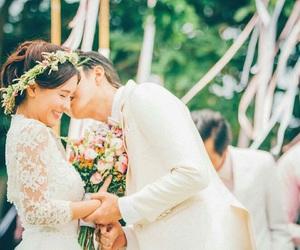 sweet, wedding, and love image