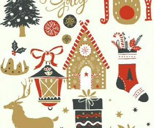 christmas, gift, and gingerbread image