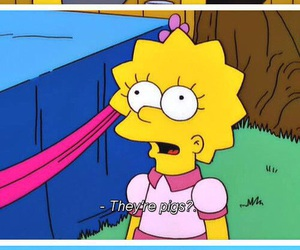 the simpsons, funny, and lisa image