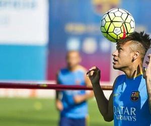 training, neymar, and neymar jr image