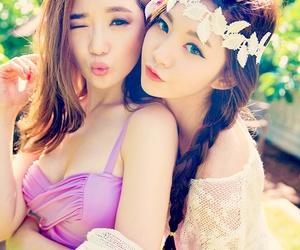 korean girl, model, and ulzzang image