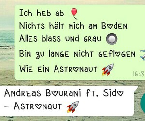 astronaut, charts, and deutsch image