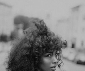 Afro, curly, and hair image