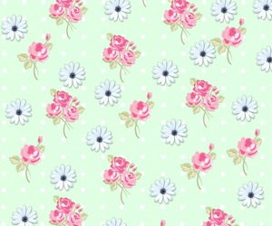 wallpaper, flowers, and pastel image