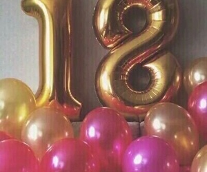 18, birthday, and eighteen image