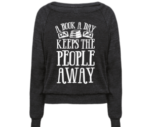 gifts for book lovers, introvert humor, and introvert shirt image