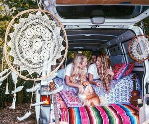 boho, hippie, and car image