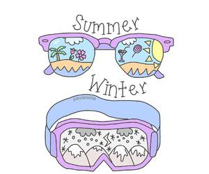 summer and winter image