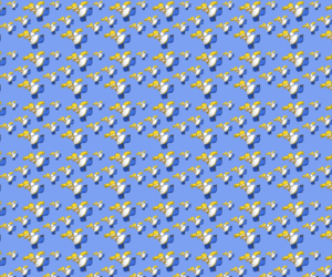 blue, homer, and wallpaper image