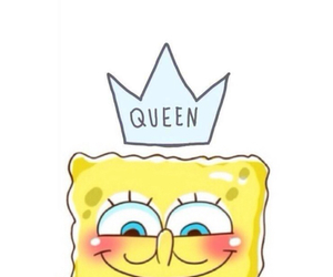 Queen, spongebob, and wallpaper image