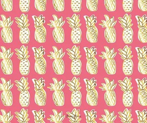 pattern, pineapple, and wallpaper image