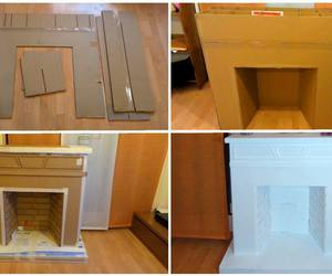 cardboard box, creativity, and diy image