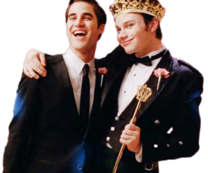 glee, klaine, and kurt image