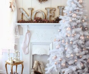 christmas, decoration, and white image