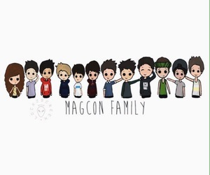 magcon and family image