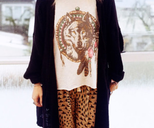 fashion, wolf, and style image