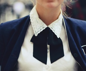 fashion, style, and collar image