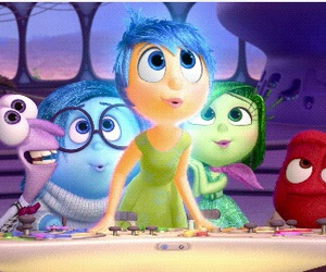 inside out, disney, and funny image