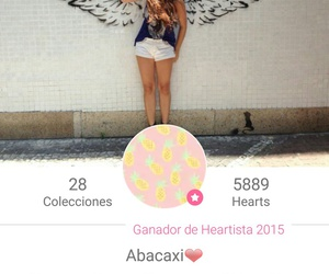 we heart it, abacaxi, and heartist image