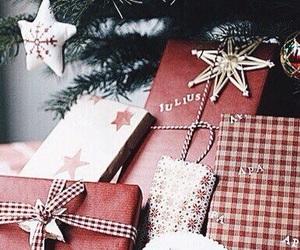 christmas, christmas tree, and marshmallow image