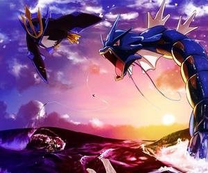 pokemon and gyarados image
