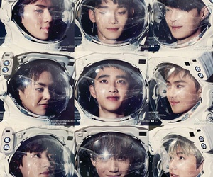 exo, Chen, and do image