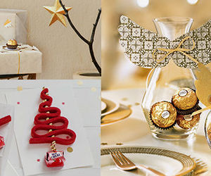 christmas, diy, and ferrero rocher image