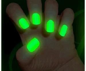 nails, art, and dark image