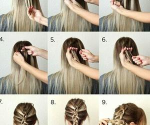 cool, diy, and hair image