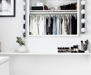 room, style, and white image