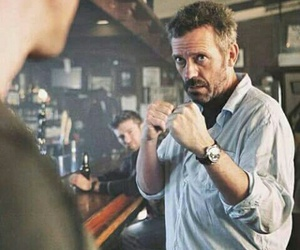 dr house, fight, and house image