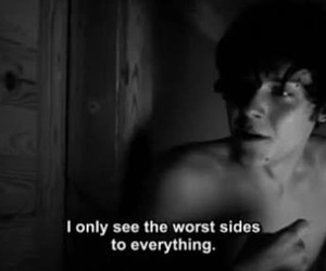 suicide room, sad, and quote image