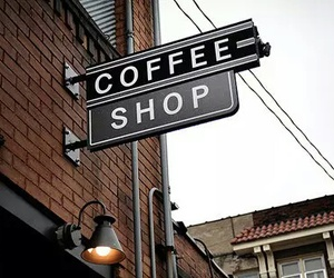 coffee, shop, and coffee shop image