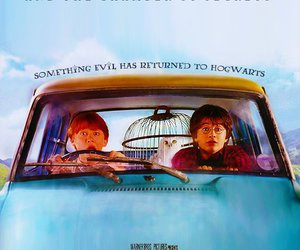 car, ron, and potter image