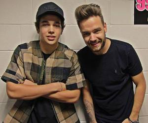 liam payne, austin mahone, and one direction image