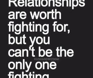 quotes, Relationship, and fight image