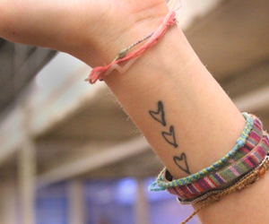 tattoo, fashion, and bracelet image