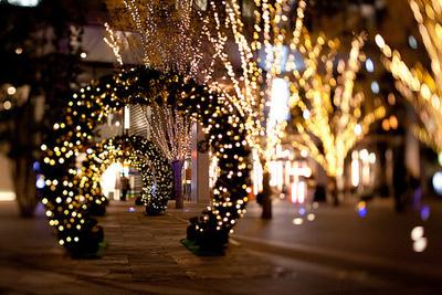 beautiful, christmas, and night image