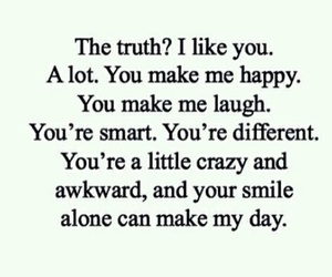 different, i like you, and smile image