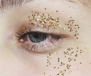 'pale', 'glitters', and 'eyes' image
