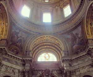 angel, fresco, and photography image